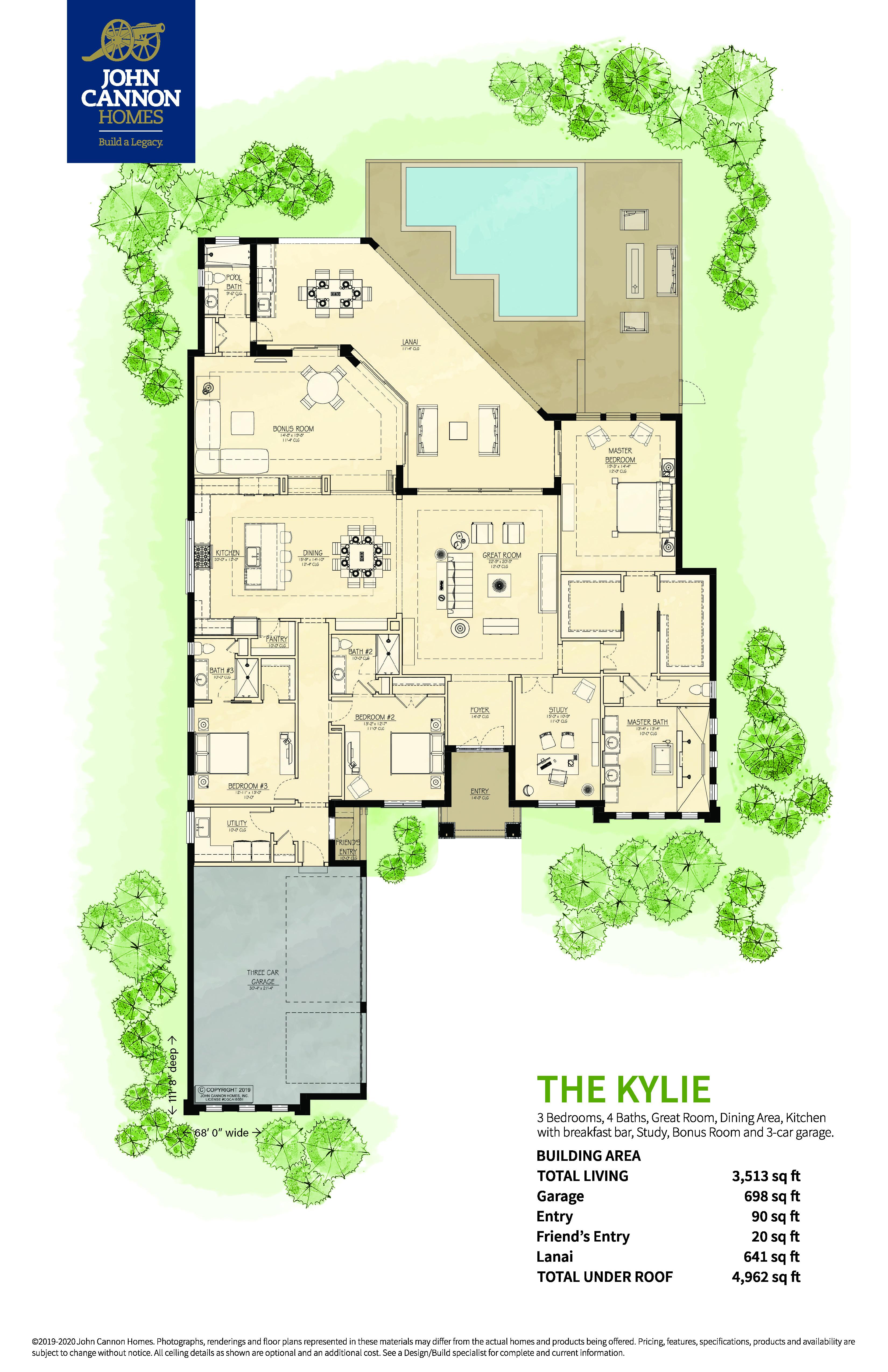 Kylie Floorplan