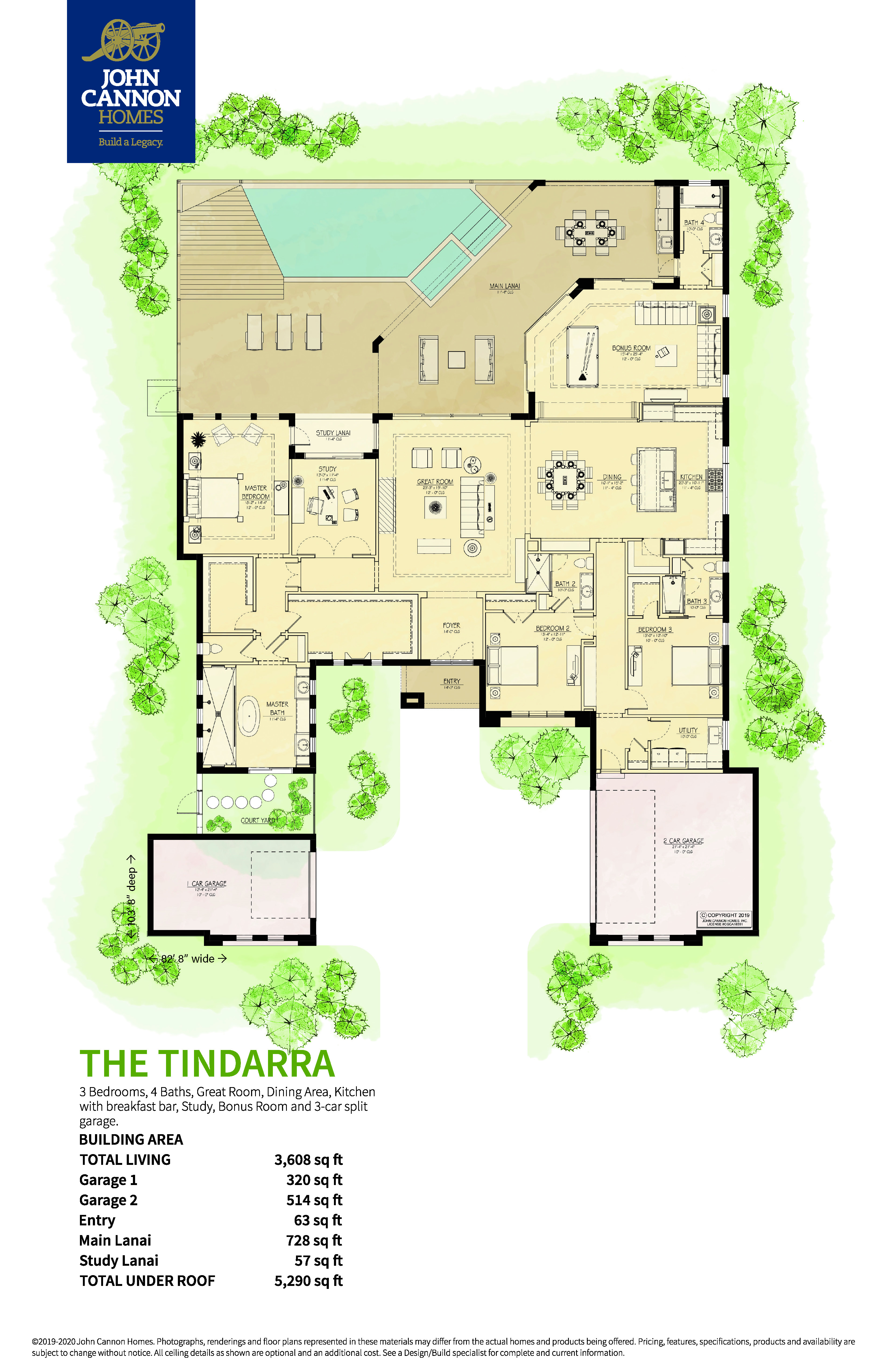 The Tindarra Floorplan