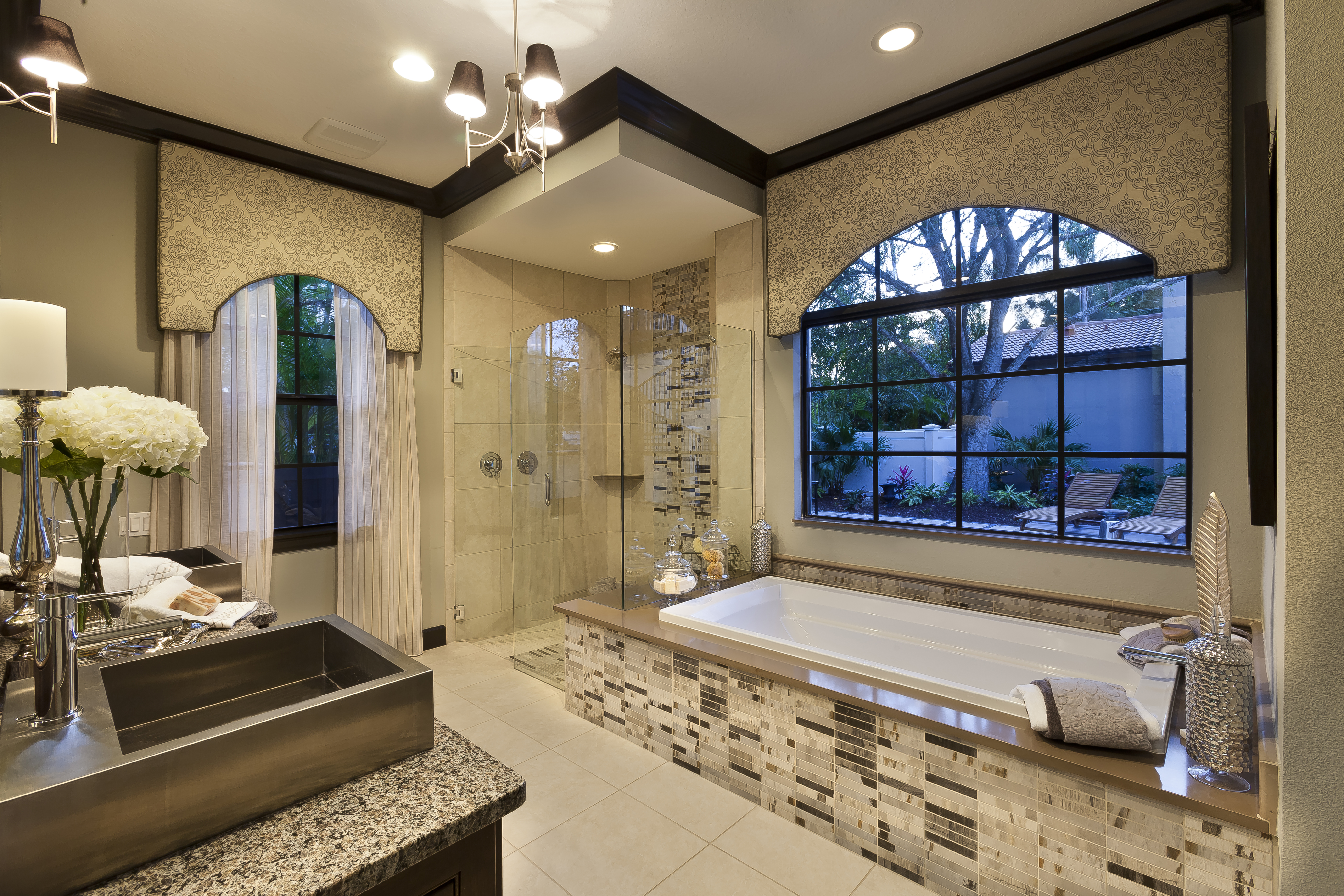 The Miah John Cannon Homes master bath