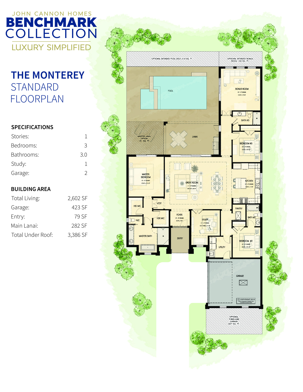 Monterey Base Floorplan