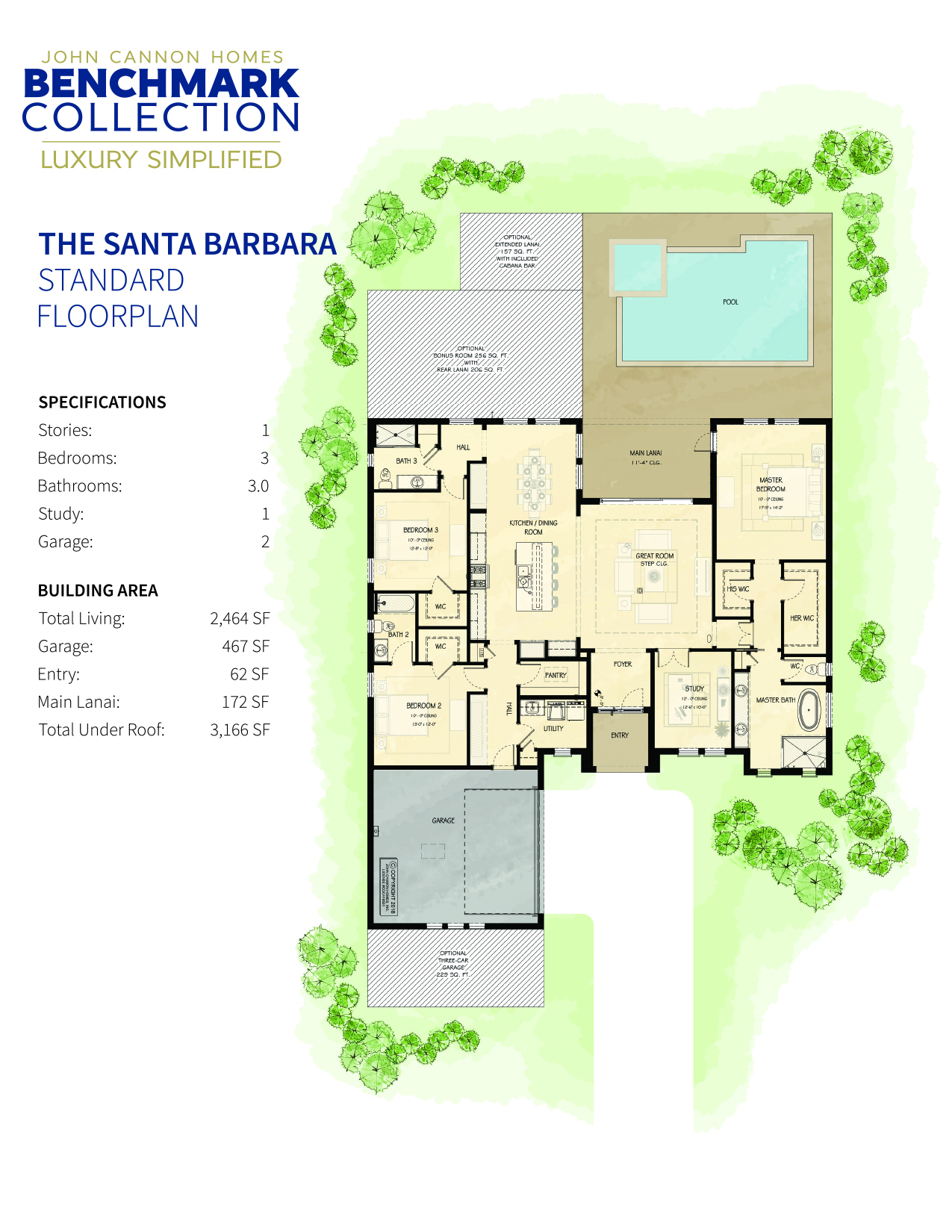 Santa Barbara Base Floorplan
