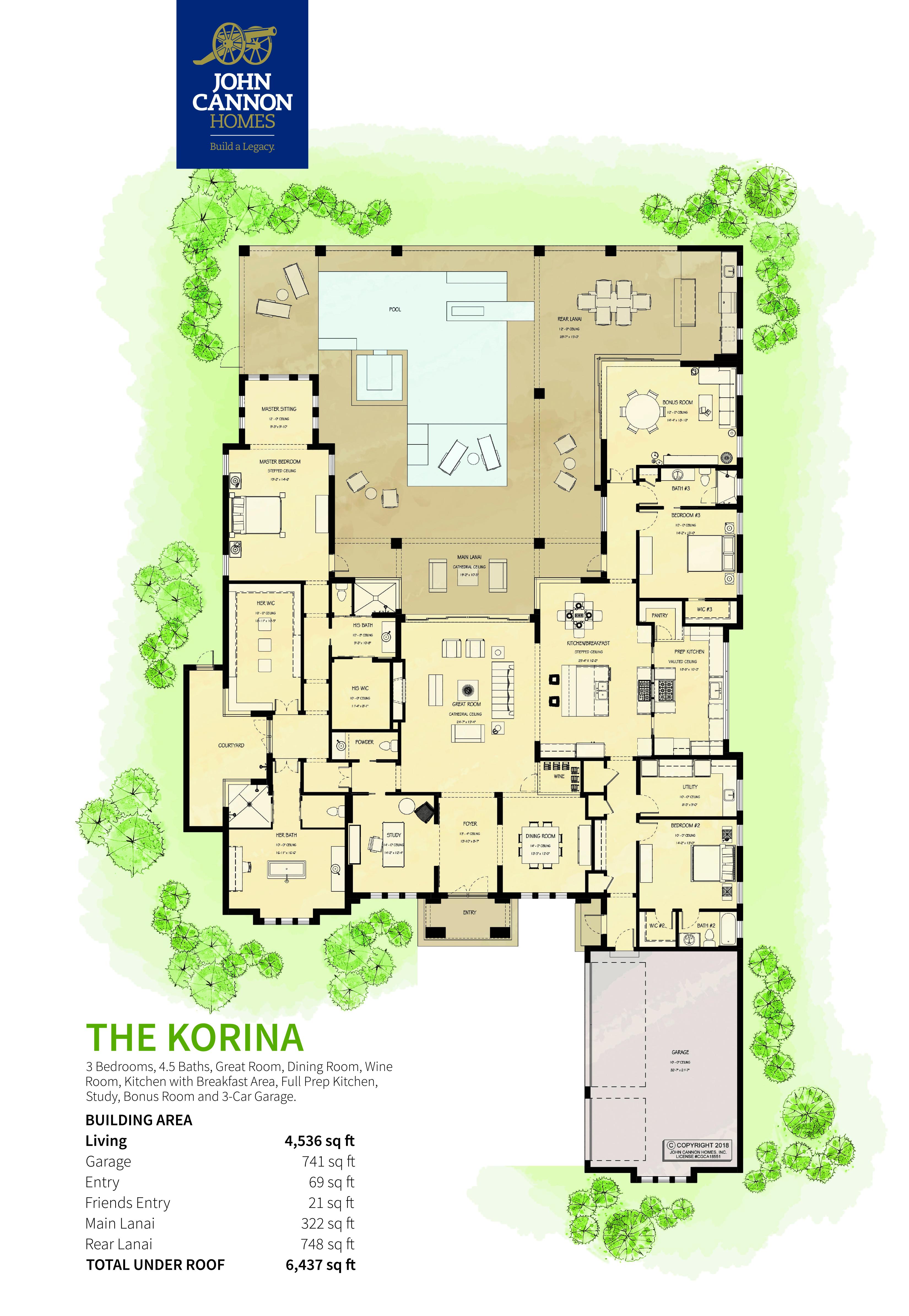 The Korina Floorplan