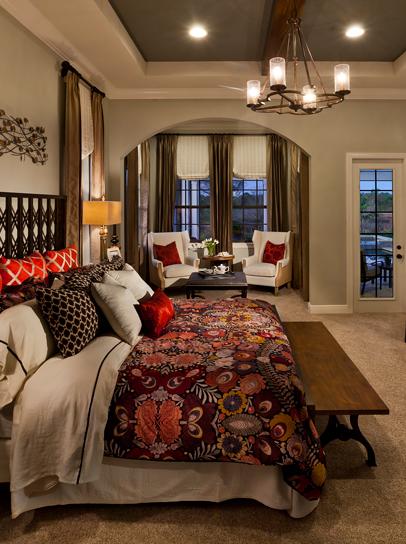 John Cannon Homes Akarra IV Master Bedroom