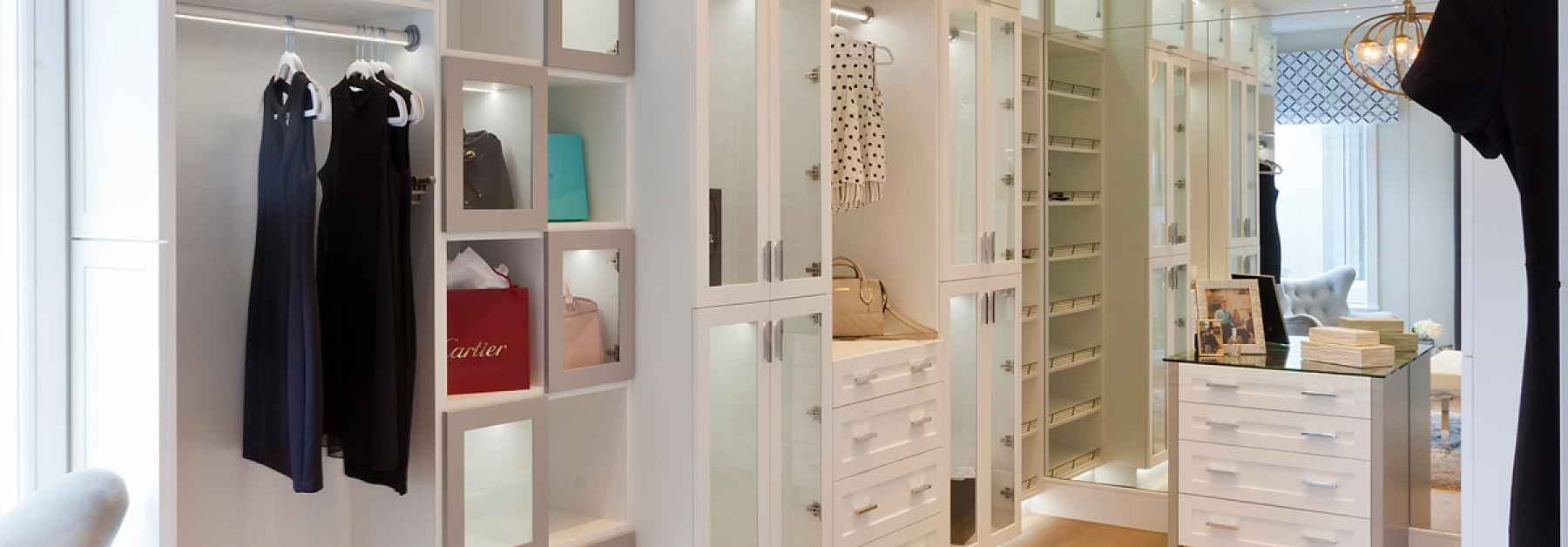 her closet in the korina by john cannon homes